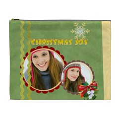 Merry Christmas By Merry Christmas   Cosmetic Bag (xl)   37z4hp2kf4nz   Www Artscow Com Front
