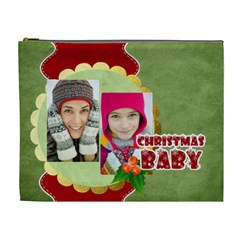Merry Christmas By Merry Christmas   Cosmetic Bag (xl)   03ukkn5imgue   Www Artscow Com Front