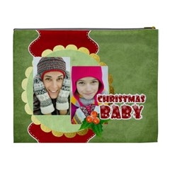 Merry Christmas By Merry Christmas   Cosmetic Bag (xl)   03ukkn5imgue   Www Artscow Com Back