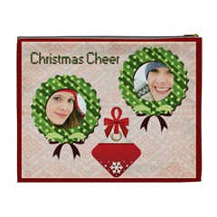 Merry Christmas By Merry Christmas   Cosmetic Bag (xl)   R4aa9d2ynu0i   Www Artscow Com Back