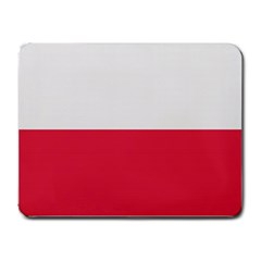 MOUSEPAD POLISH FLAG Small Mousepad by D301699A
