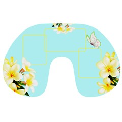 Tropical Travel Neck Pillow By Deborah   Travel Neck Pillow   Olj8uhc00ydk   Www Artscow Com Front