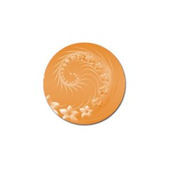 Orange Abstract Flowers Golf Ball Marker 10 Pack by BestCustomGiftsForYou