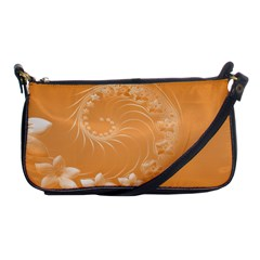Orange Abstract Flowers Evening Bag by BestCustomGiftsForYou