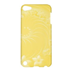 Yellow Abstract Flowers Apple Ipod Touch 5 Hardshell Case by BestCustomGiftsForYou