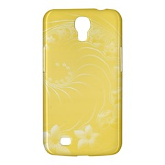 Yellow Abstract Flowers Samsung Mega 6 3  I9200 by BestCustomGiftsForYou