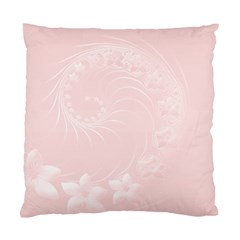 Light Pink Abstract Flowers Cushion Case (one Side) by BestCustomGiftsForYou