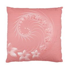 Pink Abstract Flowers Cushion Case (one Side) by BestCustomGiftsForYou