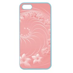 Pink Abstract Flowers Apple Seamless Iphone 5 Case (color) by BestCustomGiftsForYou