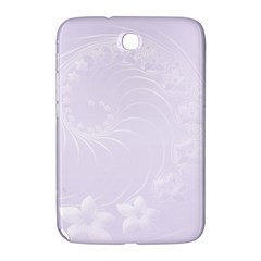 Pastel Violet Abstract Flowers Samsung Galaxy Note 8 0 N5100 Hardshell Case  by BestCustomGiftsForYou