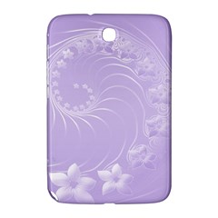 Light Violet Abstract Flowers Samsung Galaxy Note 8 0 N5100 Hardshell Case  by BestCustomGiftsForYou