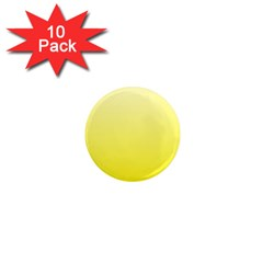 Cream To Cadmium Yellow Gradient 1  Mini Button Magnet (10 Pack) by BestCustomGiftsForYou