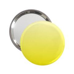 Cream To Cadmium Yellow Gradient Handbag Mirror (2 25 )