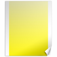 Cream To Cadmium Yellow Gradient Canvas 20  X 24  (unframed) by BestCustomGiftsForYou