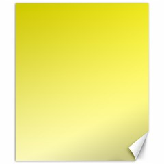 Cadmium Yellow To Cream Gradient Canvas 8  X 10  (unframed) by BestCustomGiftsForYou