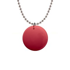 Pastel Red To Burgundy Gradient Button Necklace by BestCustomGiftsForYou