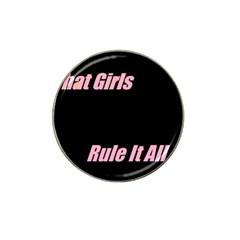 Petchatgirlsrule Golf Ball Marker 10 Pack (for Hat Clip)