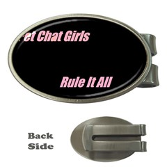 Petchatgirlsrule Money Clip (Oval)