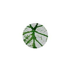 Leaf Patterns 1  Mini Button Magnet by natureinmalaysia