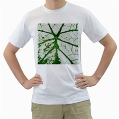 Leaf Patterns Mens  T Shirt (white) by natureinmalaysia