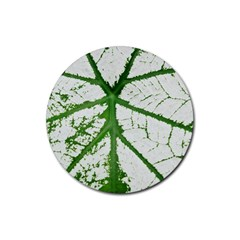 Leaf Patterns Drink Coaster (round) by natureinmalaysia