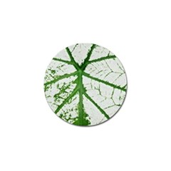 Leaf Patterns Golf Ball Marker 10 Pack by natureinmalaysia