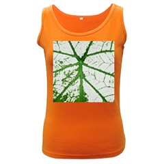 Leaf Patterns Womens  Tank Top (dark Colored) by natureinmalaysia