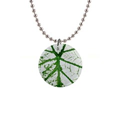 Leaf Patterns Button Necklace by natureinmalaysia