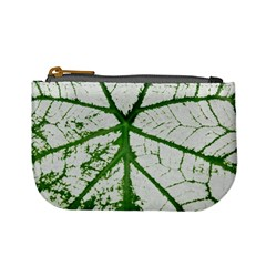 Leaf Patterns Coin Change Purse by natureinmalaysia