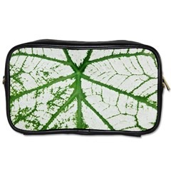 Leaf Patterns Travel Toiletry Bag (two Sides) by natureinmalaysia