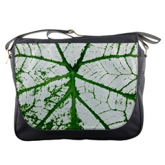 Leaf Patterns Messenger Bag by natureinmalaysia