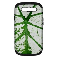 Leaf Patterns Samsung Galaxy S Iii Hardshell Case (pc+silicone) by natureinmalaysia