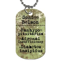 Really Done This Time By Sondee Belson   Dog Tag (two Sides)   3l3m12kkpuat   Www Artscow Com Back