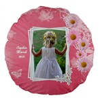 Little Princess 18  Premium Round Cushion - Large 18  Premium Round Cushion