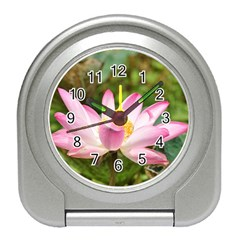 A Pink Lotus Desk Alarm Clock by natureinmalaysia