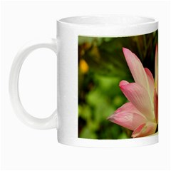A Pink Lotus Glow In The Dark Mug by natureinmalaysia