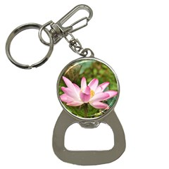 A Pink Lotus Bottle Opener Key Chain by natureinmalaysia