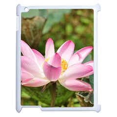 A Pink Lotus Apple Ipad 2 Case (white) by natureinmalaysia