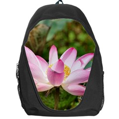 A Pink Lotus Backpack Bag by natureinmalaysia