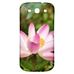 A Pink Lotus Samsung Galaxy S3 S Iii Classic Hardshell Back Case by natureinmalaysia