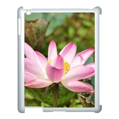 A Pink Lotus Apple Ipad 3/4 Case (white) by natureinmalaysia