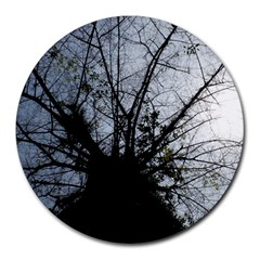 An Old Tree 8  Mouse Pad (round) by natureinmalaysia
