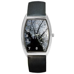 An Old Tree Tonneau Leather Watch by natureinmalaysia