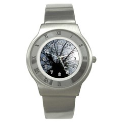 An Old Tree Stainless Steel Watch (unisex) by natureinmalaysia
