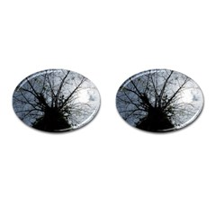 An Old Tree Cufflinks (oval) by natureinmalaysia