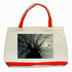 An Old Tree Classic Tote Bag (red) by natureinmalaysia