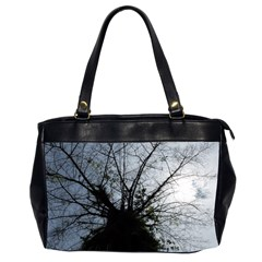 An Old Tree Oversize Office Handbag (two Sides) by natureinmalaysia