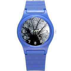 An Old Tree Plastic Sport Watch (small) by natureinmalaysia