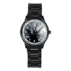 An Old Tree Sport Metal Watch (black) by natureinmalaysia