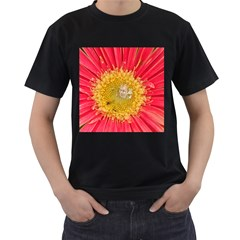 A Red Flower Mens' Two Sided T Shirt (black) by natureinmalaysia